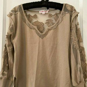 See by Chloe Beige Top Size 8